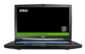 MSI WT73VR-7RM-629CA Workstation