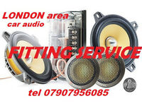 mobile CAR AUDIO RADIO FITTING SPECIALIST heat unit changes instal speakers amp amplifier subwoofer