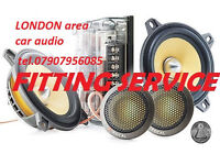 mobile CAR AUDIO RADIO FITTING SPECIALIST head unit changes installation speakers fitter LONDON area