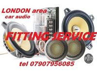 mobile CAR AUDIO RADIO FITTING SPECIALIST heat unit changes instal speakers amp car amplifier