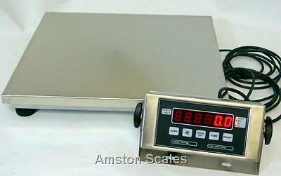 500 X 0.1 Lb Ntep Legal For Trade Digital Bench Scale 14x16 Platform Shipping