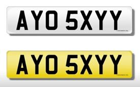 Cherished Private Number Plate, AYO SEXY, Fast, GTR, Race, G, SXY, BABY, BABE