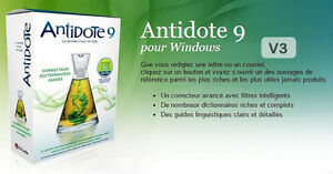 Antidote 9 v3 bilingue avec visuel New!!! windows 7,8,8.1 et 10