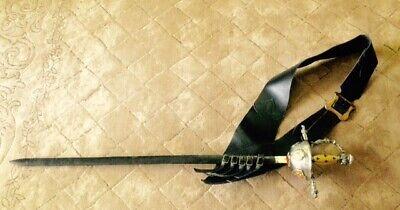 Commemorative 3 musketeer sword toledo steel