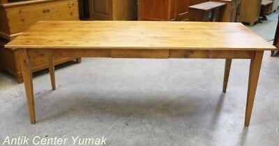 Jugendstil Tisch Esstisch Tafel Küchentisch Schreibtisch Gesindetisch Antik