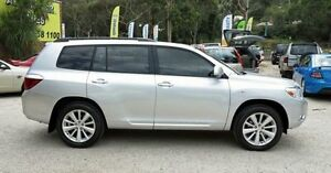 2009 Toyota Kluger GSU45R Altitude Silver 5 Speed Automatic Wagon Upper Ferntree Gully Knox Area Preview