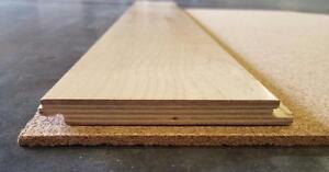 Cork Underlayment - 2, 4 & 6mm in 2' x 3' sheets