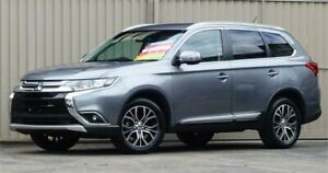2015 Mitsubishi Outlander ZK MY16 LS (4x4) Silver Pearl Continuous Variable Wagon Lismore Lismore Area Preview