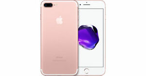 BRAND NEW APPLE IPHONE 7 PLUS 32GB ROSE GOLD ROGERS/CHATR