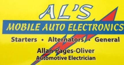 ** Al's Mobile Auto Electrical** Auto Electrician
