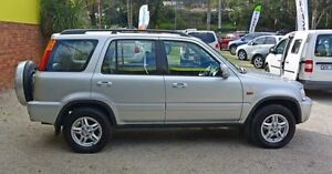 1999 Honda CR-V Sport Silver 5 Speed Manual Wagon Upper Ferntree Gully Knox Area Preview