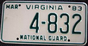 Best Selling in Virginia License Plates