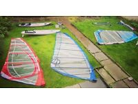 Windsurfing quiver