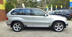 2002 BMW X5 E53 IS Silver 5 Speed Automatic Wagon Upper Ferntree Gully Knox Area Preview