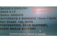 Tuition,£6.00 p/hr, private tutor, Private tuition, KS1&KS2, SATS, SPAG
