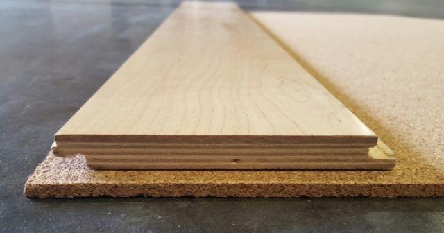 Cork underlayment 2 4 6mm in 2 39 x 3 39 sheets floors for 6mm wood floor underlay