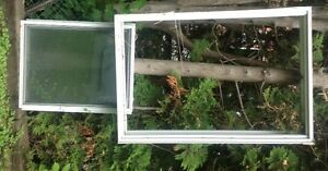 Aluminum window - 41 x 59 1/2 inch wide