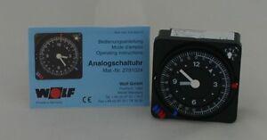 Wolf 8903152 Analog-Schaltuhr für R11, R12, R16, R18, Alt.2791024 Original Ersat
