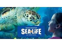 Sealife manchester entry ticket