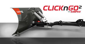 "Click N Go 2 60"" ATV Plow System For Sale. (2016 Yamaha Grizzly)"