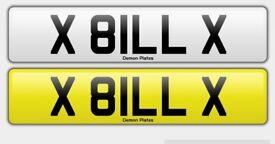Private registration 'X 81LL X' ( BILL )