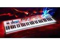 ARTURIA KEYLAB 61 MIDI CONTROLLER KEYBOARD ( +USB CABLE + MANUAL + GIG BAG)