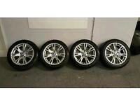 "BMW X1 3 SERIES M SPORT 17"" ALLOY WHEELS & TYRES"