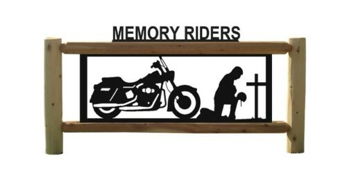 MOTORCYCLES - PERSONALIZED BIKE SIGN