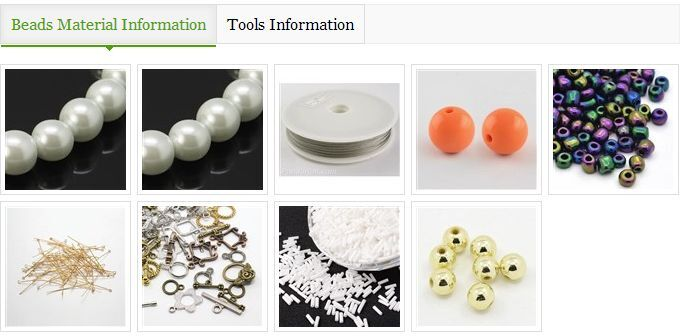 I'm going to share you a Pandahall tutorial on how to make unique beading ball bracelet with orange acrylic bead~