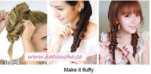 Clip in hair extension,Braid Fishtail Plait Ponytail, Elastic... Yellowknife Northwest Territories image 8