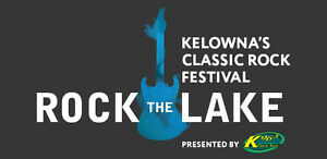 2 ROCK THE LAKE 3-DAY PASSES $500