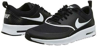 Nike Women's Air Max Thea Running Shoes Black White 599409-028