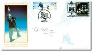 FIRST-DAY-COVER-EVEREST-CORONATION-BUCKINGHAM-FDC-SIGNED-BY-EDMUND-HILLARY
