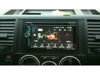 SONY XAV 602BT CAR STEREO WITH BLUETOOTH AND TOUCH SCREEN DISPLAY