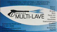 Lavage a pression Residential-Commercial-Industriel