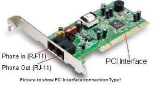 Hiro Fax/Modem - PCI -  56 Kbps - V.92 - H23534