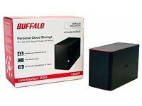 Buffalo LinkStation LS220D 2TB (2 x 1TB WD BLUE) 2 Bay Desktop NAS - [NEW]