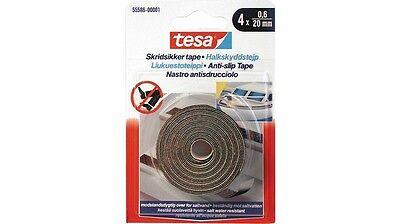 Tesa nastro antisdrucciolo 55586 0,6 x 20 mm resistente esterno interno nuovo
