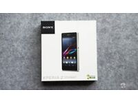 Brand new Sony xperia z1 compact unlocked in black smartphone