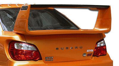02-07 For SUBARU Impreza WRX STI 4DR C-GT Wing Spoiler 1pc Body Kit 105438 Subaru Impreza Fiberglass Wings