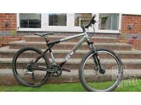 Gt pantera mountain bike, disc brakes, sz medium