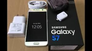 Excellent Condition Samsung S7 32 GB Silver For Sale