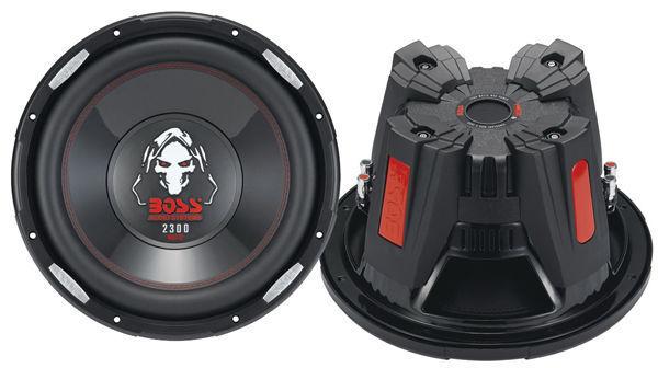 Boss P126DVC Phantom 12-Inch Dual 4-Ohm Subwoofer