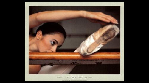 Ballet Study by Harvey Edwards BARRE STRETCH Ballerina Dancing POSTER Print