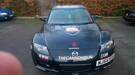 mazda RX-8, 2004 body with a 2007 engine, remapped, decatted, 190ps