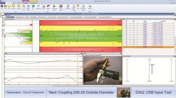 64AAB606 MeasurLink SPC Real-Time Standard