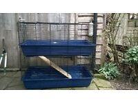 2 Storey Indoor Rabbit / Guinea-pig cage - 100cm