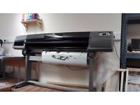 HP Designjet 5500 60 inch Large Format Printer UV Inks **FOR SALE**