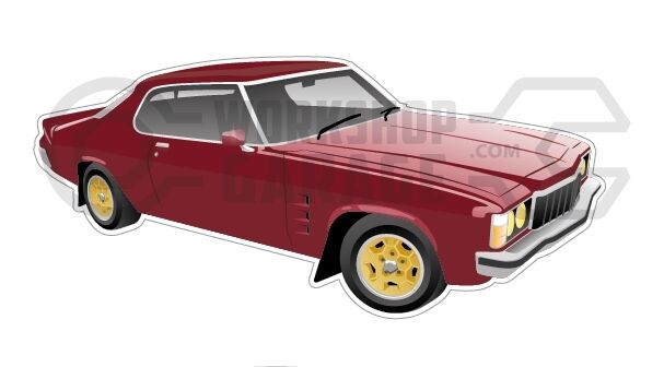 New! Collectable Holden Monaro HX Limited Edition LE