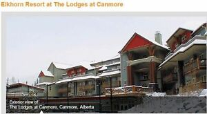 One Week at Elkhorn at the Lodges in Canmore - August 5 to 12